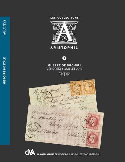 9 • HISTOIRE POSTALE • GUERRE DE 1870-1871 par Aguttes