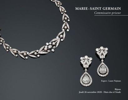 [VENTE MAINTENUE] Bijoux anciens et modernes, Montres Bijoux diamants et pierres précieuses d'exception