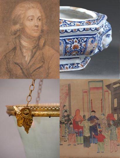 Livres, tableaux, dessins, gravures, céramique européenne et asiatique, opium, bronzes, Vietnam, laques
