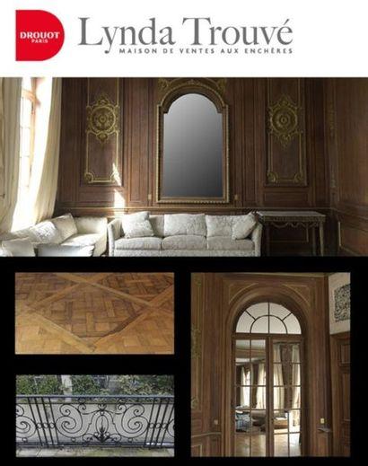 Ensemble d'éléments décoratifs d'une Résidence officielle de Neuilly-sur-Seine