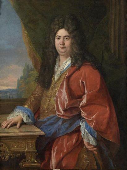Attribué à Louis II de BOULLOGNE (1654-1733) Portrait de Jean Louis Arnault conseiller et secrétaire du roi