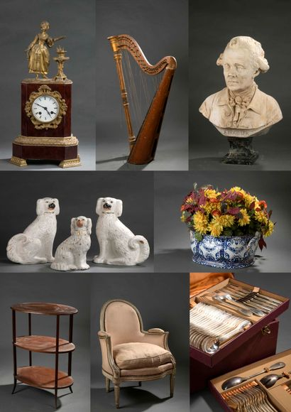 HOUSEHOLD FUND - Drawings, Paintings, Ceramics, Silverware, Furniture & Works of Art