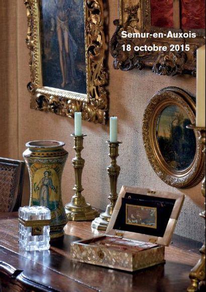 Tableaux, Dessins anciens, Argenterie Objets d'art, Mobilier, Tapis provenant notamment du château de la Montagne à Gien