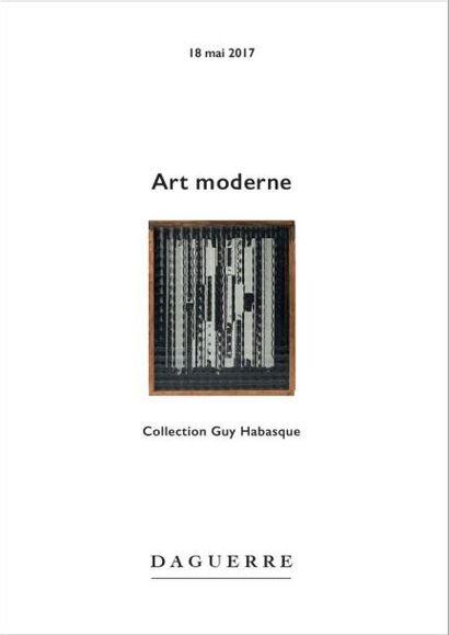 Art moderne provenant principalement de la collection Guy Habasque (1924-2003), critique et historien d'art
