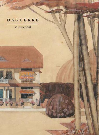 1850-1980 Dessins, Tableaux, Fonds d'atelier émile Barau (1851-1930) Bijoux, Objets d'art, Mobilier