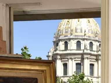 Fonds d'un appartement parisien