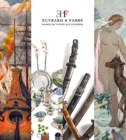 DESSINS & TABLEAUX ANCIENS - MOBILIER & OBJETS D'ART - ARTS DE L'ASIE - BIJOUX - ORFEVRERIE - ARTS DU XXème & CONTEMPORAIN - STREET ART