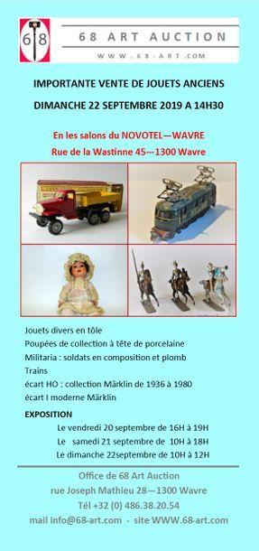 Vente jouets anciens et trains Märklin (3e partie)