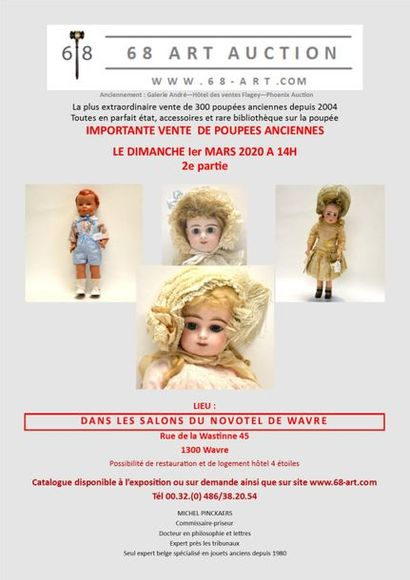 Sales of dolls (part 2) and antique toys