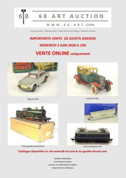 SALE OF OLD TOYS