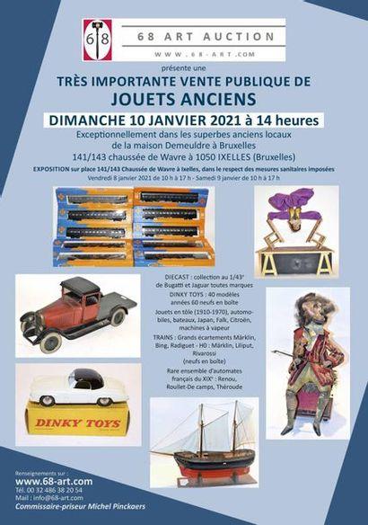 VENTE DE JOUETS ANCIENS