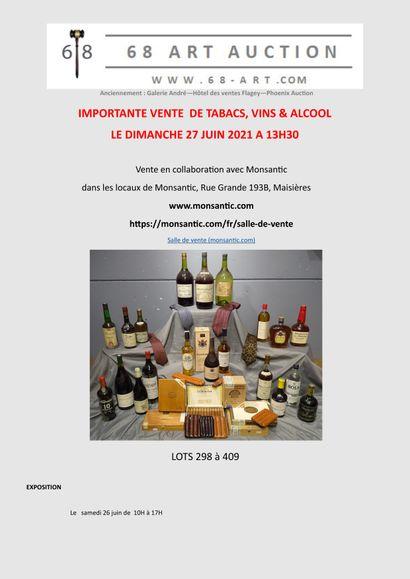 INTERIOR PLEASURES (wines, spirits, cigars) on www.monsantic.com