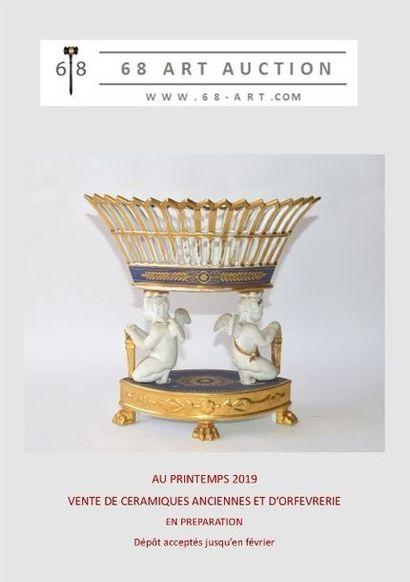 Importante vente céramiques anciennes dans un lieu mythique, voir information