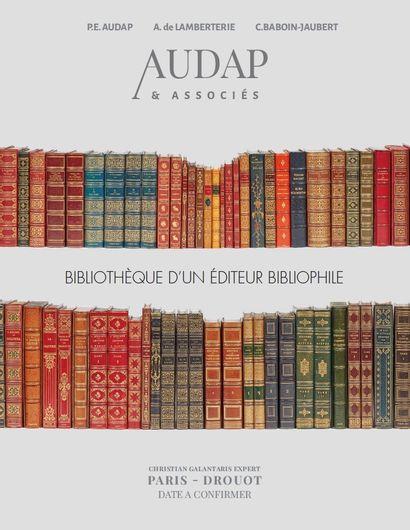 Bibliothèque d'un éditeur bibliophile.
