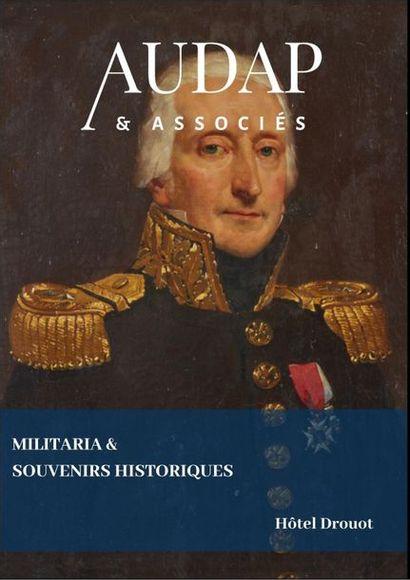 MILITARIA & SOUVENIRS HISTORIQUES - CHASSE & CHEVAL  (VENTE EN PREPARATION)
