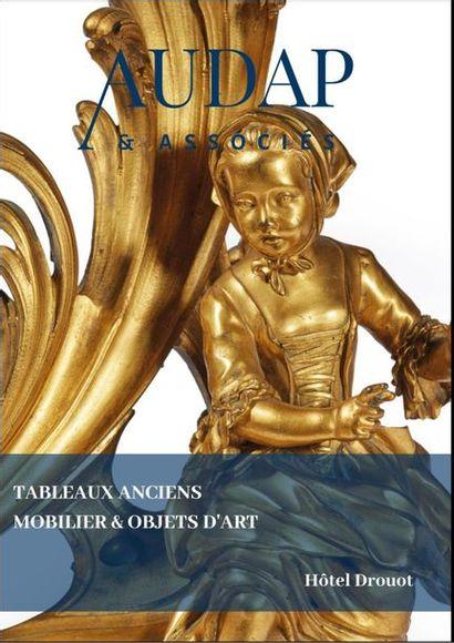 TABLEAUX & DESSINS ANCIENS - MOBILIER & OBJETS D'ART  (VENTE EN PREPARATION)