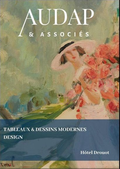 TABLEAUX & DESSINS MODERNES - DESIGN  (VENTE EN PREPARATION)