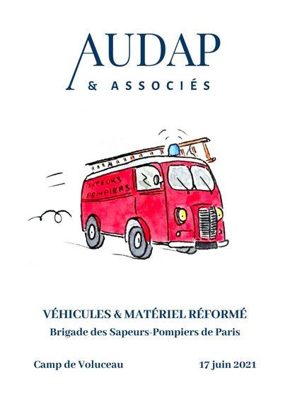 VÉHICULES ET MATÉRIEL RÉFORMÉ - Brigade des Sapeurs-Pompiers de Paris
