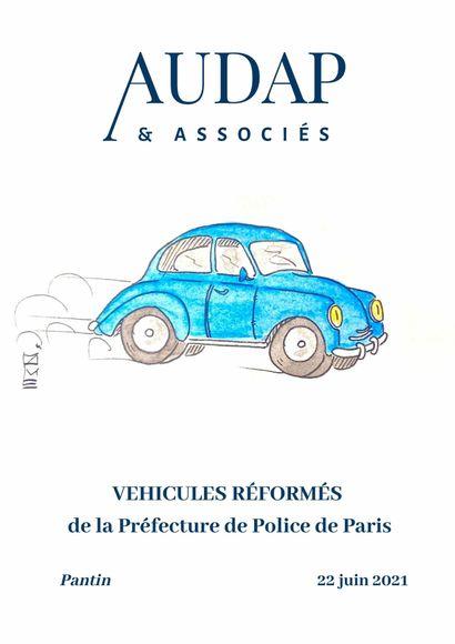 VÉHICULES RÉFORMÉS DE LA PRÉFECTURE DE POLICE DE PARIS