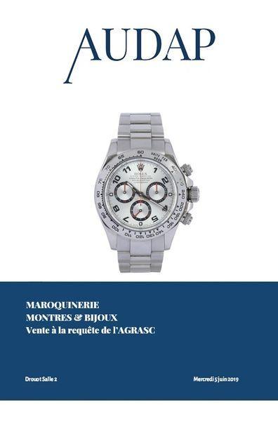 Montres, Maroquinerie & Bijoux (Vente Judiciaire à la requête de l'AGRASC)
