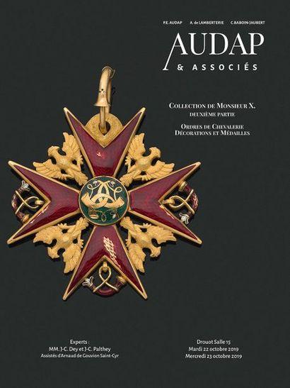 Collection de Monsieur X - Ordres de Chevalerie (IIe partie - jour 1)