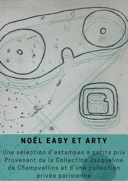 Noël Easy et Arty : Une sélection d'estampes à petits prix