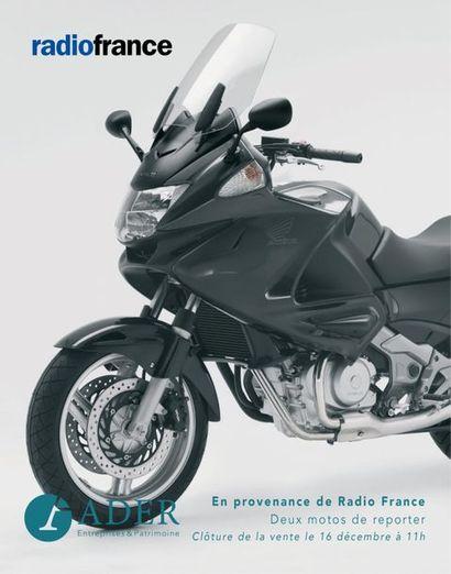 [VENTE EN LIGNE] En provenance de Radio France : Deux motos de reporter