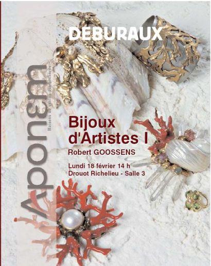 Bijoux d'artistes I: Robert GOOSSENS