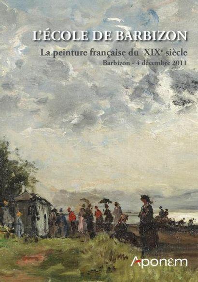 ECOLE DE BARBIZON - Tableaux XIXe siècle -