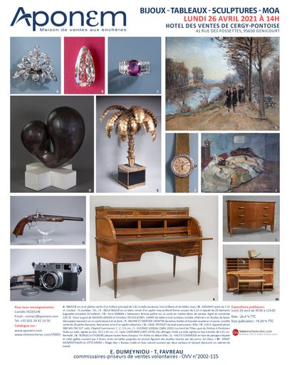 JEWELLERY - FURNITURE - ART OBJECTS