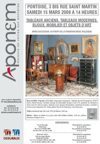 Tableaux - Meubles - Objets d'art