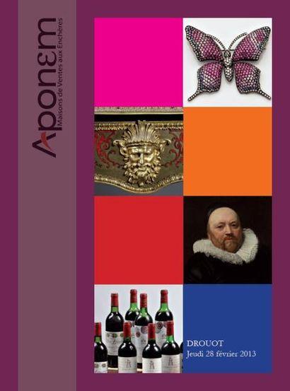 VINS - BIJOUX - LIVRES - TABLEAUX - MOBILIER - OBJETS D'ART