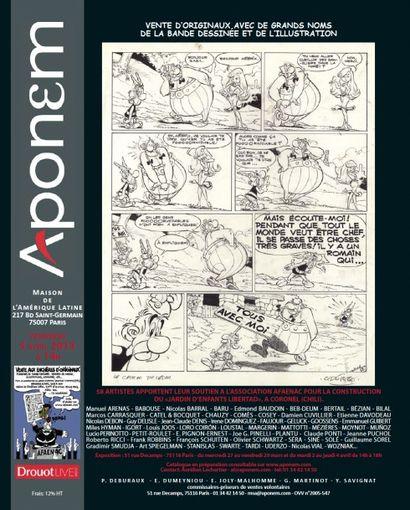 Vente d'originaux de la bande dessinée et de l'illustration au profit de l'AFAENAC