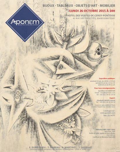MANUSCRITS - BIJOUX - TABLEAUX - OBJETS D'ART - MOBILIER
