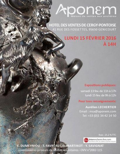 MOBILIER - OBJETS D'ART - Important ensemble de céramiques modernes