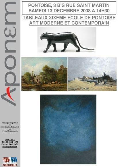 Tableaux XIXème, Ecole de Pontoise - Auvers-sur-Oise, Art moderne et contemporain