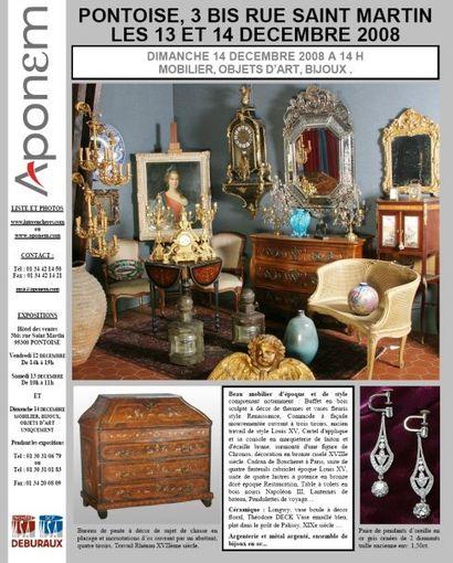 Mobilier, objets d'art, Bijoux et Textiles.