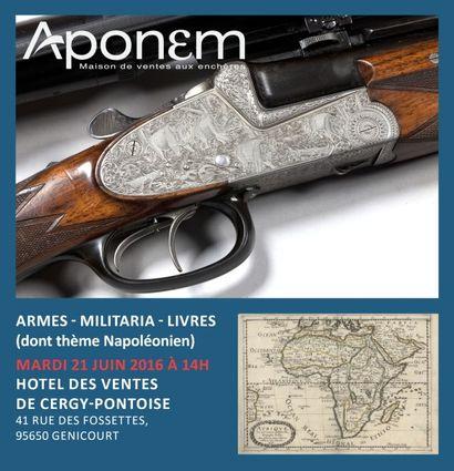ARMES - SOUVENIRS HISTORIQUES - LIVRES