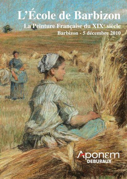 TABLEAUX XIXe ECOLE DE BARBIZON
