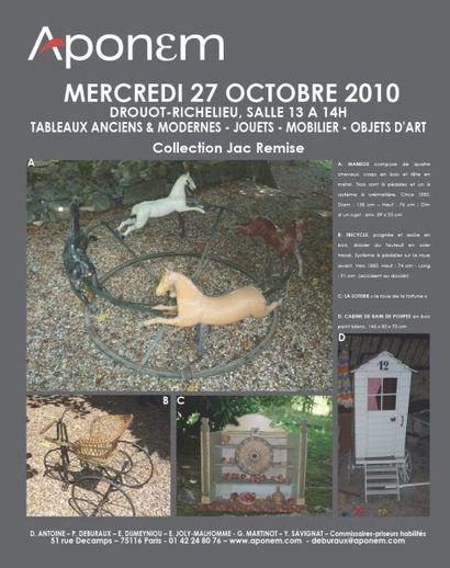 TABLEAUX ANCIENS & MODERNES - JOUETS - MOBILIER - OBJETS D'ART
