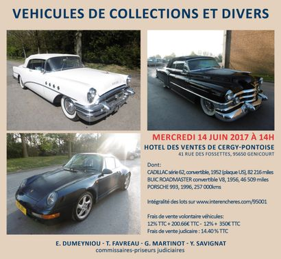 VEHICULES DE COLLECTION ET DIVERS