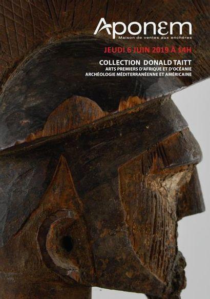 COLLECTION DONALD TAITT ET A DIVERS- Arts Premiers d'Afrique et d'Océanie - Archéologie méditerranéenne et américaine
