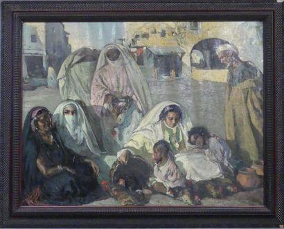 tableaux, mobilier et objets d'art, tableaux orientalistes