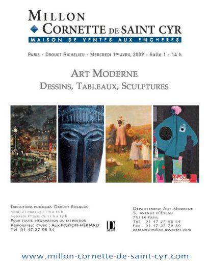 Tableaux et sculptures Impressionnistes, XIe et Moderne