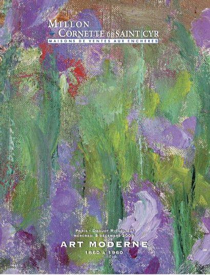 ART MODERNE 1860 À 1960 TABLEAUX – DESSINS – SCULPTURES
