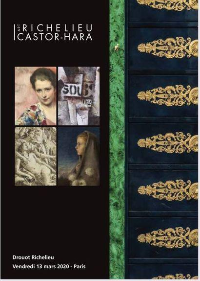 Dessins et Tableaux anciens et modernes, Armes, Mobilier et objets d'art