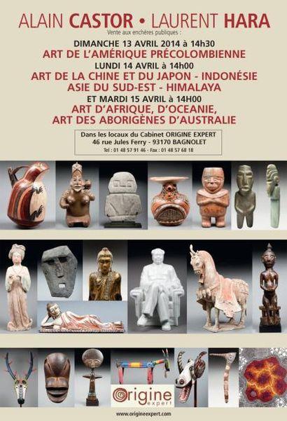 ART D'AFRIQUE, D'OCEANIE, ART DES ABORIGÈNES D'AUSTRALIE