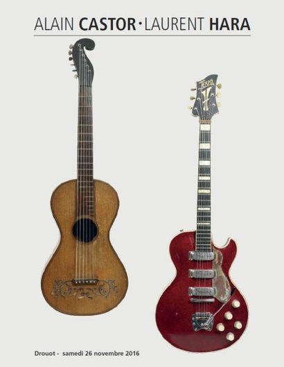instruments de musique, guitares et documentations