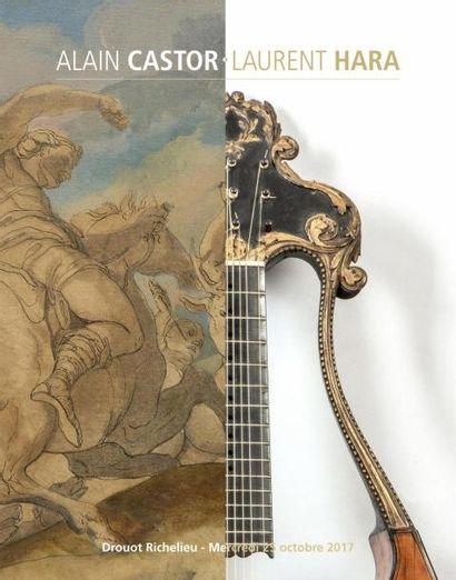Dessins et tableaux anciens provenant d'une collection privée parisienne. Tableaux Modernes, Sculpture, Gastronomie, Mobilier et Objets d'art. Guitares
