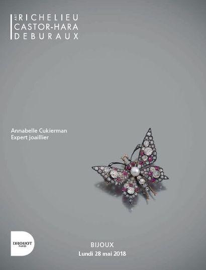 BIJOUX XVIIIÈME – XIXÈME ET XXÈME SIÈCLES - HORLOGERIE - MINIATURES ET OBJETS DE VITRINE - NUMISMATIQUE